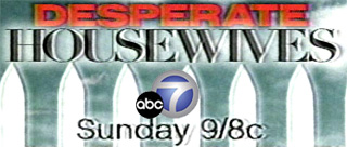 All-new Desperate Housewives, Sunday 9pm