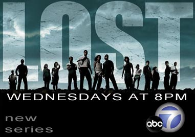 "Get ""LOST"" at 8pm on ABC7"